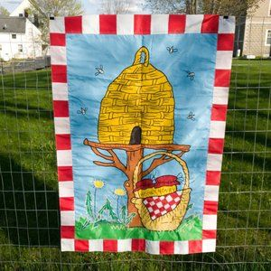 Other - Bee Hive Collecting Honey House Garden Flag Summer